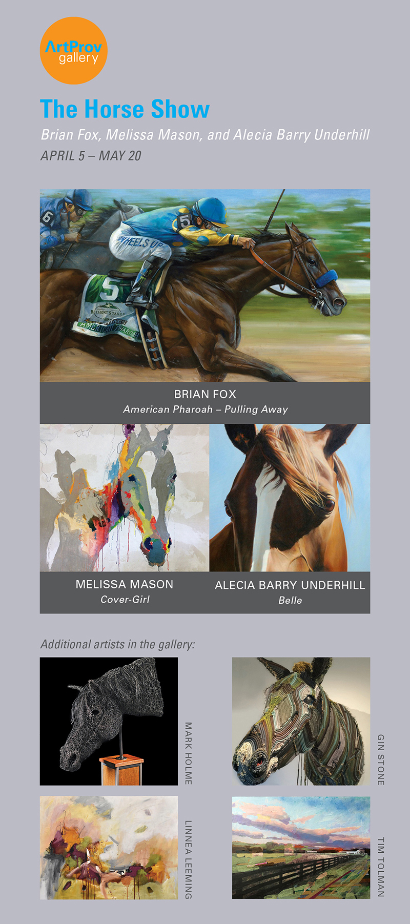 THE HORSE SHOW Card REV 3